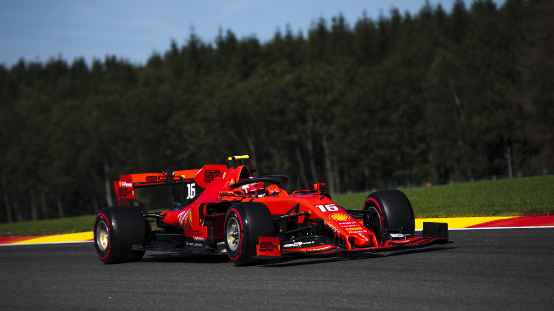 Leclerc domina o Qualifying e larga na pole do GP da Bélgica
