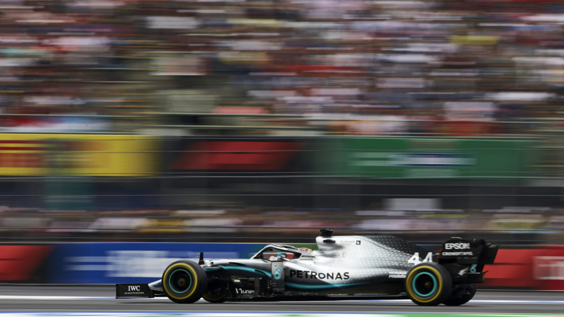 Hamilton vence o GP do México 2019