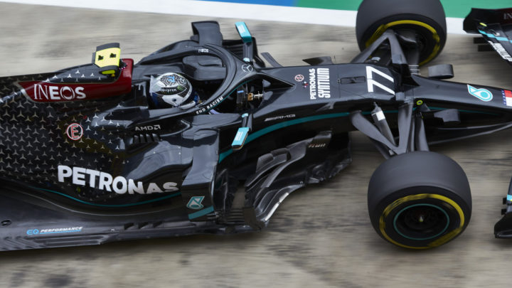 Bottas fica com a Pole do GP da Áustria 2020